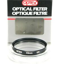 New Optex Circular Optical Filter 49mm UV Protection Japan