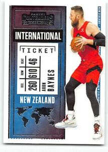 2020-21 Panini Contenders International Ticket Insert #1 Aron Baynes