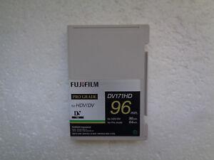 HDV / DV FUJIFILM DV171HD 96min Pro Grade Video Cassette - New