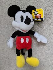 """Disney Mickey Mouse 90 Years Pie Eye Mickey 8"""" Plush New with Tag"""