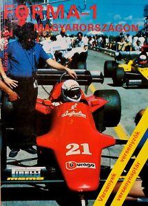 HUNGARIAN GP 1986 book F1 Champions,drivers signed Lauda,Piquet,Jones,Fittipaldi