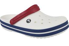 Crocs Crockband 11016-11i Unisex SCHUHE Badelatschen weiß