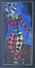 More details for 1945 theyre lee-elliott ballet painting gouache harlequin ashton? alan carter?