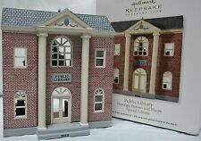 HALLMARK 2012 Public Library Nostalgic Houses & Shops Ornament NEW in Box