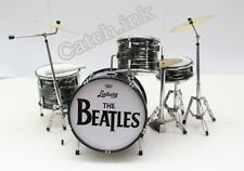 RINGO STARR THE BEATLES DRUM SET DRUM KIT MINIATURE FOR DISPLAY ONLY