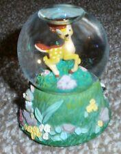 Bambi - Snow Globe - Disney - Rare - Disney Store