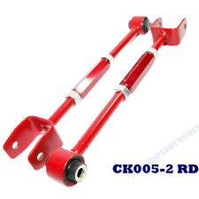 RED Rear Control Camber Arms fits 08-14 Accord/09-14 Acura TL TSX Adj. +/-3.00°