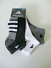 Adidas Mens low cut socks shoe size 6-12 3 pair
