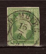 ALLEMAGNE German states Freimarke 1T King F.William IV valeur 4 pfennige   200T3