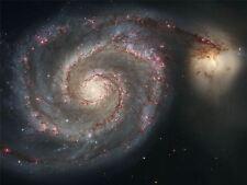 ART PRINT POSTER SPACE STARS GALAXY UNIVERSE HUBBLE SPIRAL NOFL0412