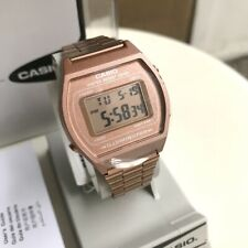 Casio Watch * B640WC-5A Retro Digital Bronze Rose Gold Steel with flaw