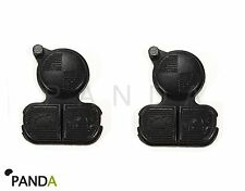 2X 3 BUTTONS REPLACEMENT REMOTE FOB KEY BUTTONS REPAIR PAD BMW 3 5 7 E38 E39 E36