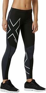 2XU Wind Defence Tight Compression Fitness Gym Leggings Running Women's Size M