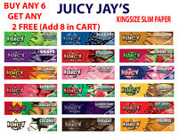 Juicy Jays King Size Slim FRUITY Flavoured Rolling Papers