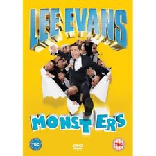 Lee Evans - Monsters Live DVD 2014 Comedy Region 2