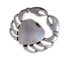 New St Justin Pewter Large Crab Cancer Sign Brooch in Gift Box PB872 UK Made