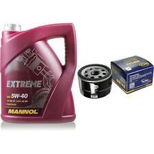 Inspektionspaket 5L MANNOL Extreme 5W-40 + Filter für Renault Megane Scenic