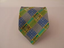 NICOLA FERRI SILK TIE SETA CRAVATTA MADE IN ITALY  A4473
