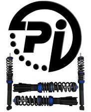CITROEN C4 COUPE Mk1 04-10 2.0 HDi VTS PI COILOVER ADJUSTABLE SUSPENSION KIT
