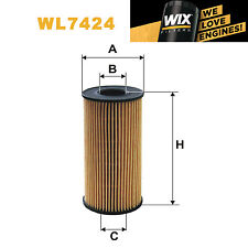 1x Wix Oil Filter WL7424 - Eqv to Fram CH10076ECO