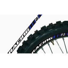 Blackbird Felgenaufkleber Dekor Felgen Aufkleber MX Enduro Motocross Blau SM