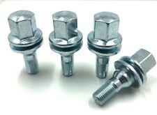 4 x ALLOY WHEEL BOLTS FOR CITROEN M12x1.25 (35MM LONG) FLAT SEAT LUGS NUTS [95]