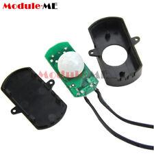 5-24 V Sensor De Movimiento Pir Infrarrojo Interruptor con dos terminales para Tira de LED cadena