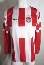 OLYMPIACOS SHIRT JERSEY SIZE XXLB 34-36 INCH OFFICIAL PRODUCT R.R.P $70 BNWT