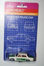 SIKU Eurobuilt Diecast Mercedes Polizei Police Car 1/55 Sealed On Card