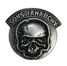 Sons of Anarchy Skull Gunmetal Belt Buckle