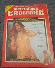 magazine erotisme eroscore numero 3