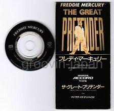 """FREDDIE MERCURY The Great Pretender /My Love Is JAPAN 3"""" CD TODP-2505 1995 issue"""