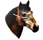 Strawberry Roan Horse Clock - Strawberry Roans - Horse Clock - HO16-C