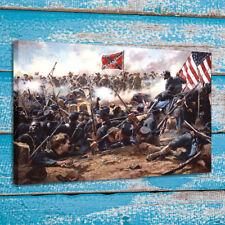American Civil War Oil Painting Home Wall Art Decor Print on Canvas 16x22