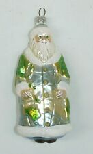 "Patricia Breen 9617 ""Global Santa"" Earth Day World Glass Ornament, 1996"