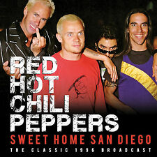 RED HOT CHILI PEPPERS New 2019 UNRELEASED LIVE 1996 SAN DIEGO CONCERT CD
