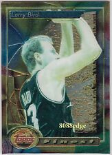 1993-94 TOPPS FINEST BASE CARD #2: LARRY BIRD - BOSTON CELTICS NBA TOP 50 PLAYER