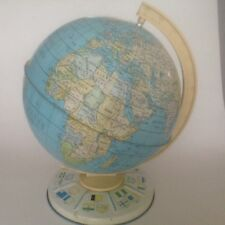 Vintage / Retro Chad Valley Tin Plated Children's Globe from 1960's