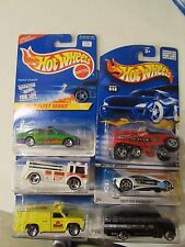 Hot Wheels Lot of (6) Police and Fire Rescue vehicle types!! Lot #2