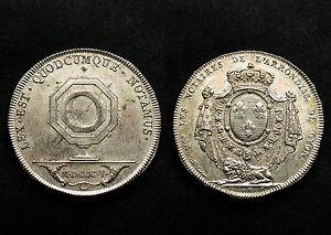 Jeton Notaire de Lyon et du Lyonnais. Louis XVI°, 1805. Argent. SPL