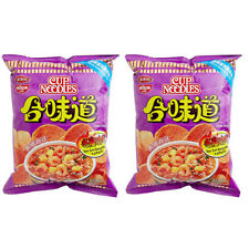Snack Foods Nissin Koikeya Potato Chips Noodle Tom Yum Goong Favor 50g x 2 Pack