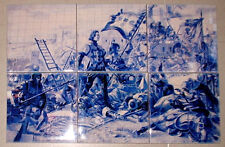 Battle of Aljubarrota 1385,batalha de  6 piece Ltd. Edt. CERAMIC TILE SET