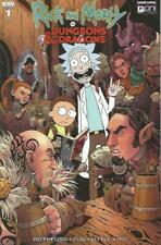 IDW Comics & Oni Press Rick & Morty VS Dungeons & Dragons #1 Aug 2018 Cover B NM