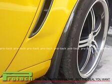 Carbon Fiber Mud Flaps Lip Spoiler For 2005-2013 Chevy Corvette C6 Z06 ZR1 CF