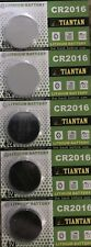 Pack of 5 CR2016 TianTan Lithium 3V Primary Battery Brand New Factory Direct
