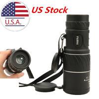 US HD 40x60 Handheld  Zoom Monocular Telescope Low Light Night Vision Binoculars