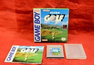 ULTRA GOLF - BOXED NO CARDBOARD INLAY - NINTENDO GAME BOY - NTSC REGION FREE