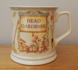 Head Gardener Lady - Past Times - 44492 - Fine Bone China Mug - Made In England