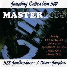 SAMPLING COLLECTION 500 VOL.1-MASTERBITS-Original-Sampling-CD-Rar-Top Zustand!!!