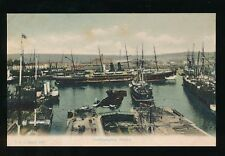 Hampshire Hants SOUTHAMPTON Docks Ships c1900s PPC by Stuart #389